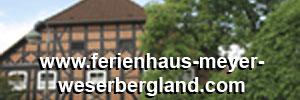 Ferienhaus Meyer Weserbergland