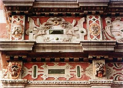Detail Dempterhaus Hameln