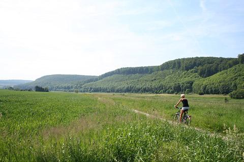 Weserradweg bei Emmerthal