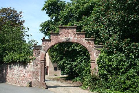 Torbogen Hajen Weserbergland